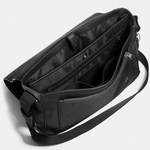 3ccf0d800dbf Coach Bags - Coach Metropolitan Courier in Pebble Leather Black